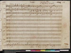 Mozart Zauberflote (originale autografo_Bibl Berlino Est)